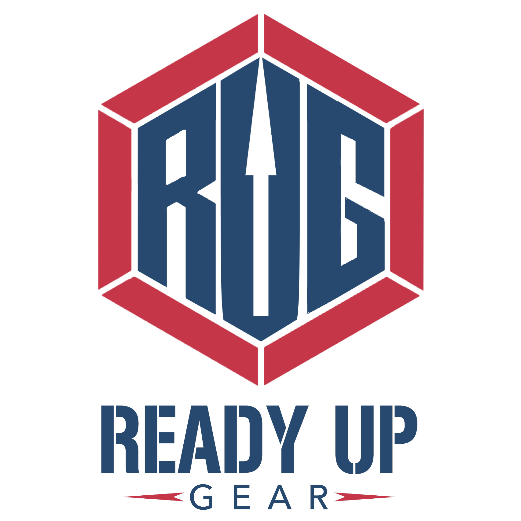Ready Up Gear Square Logo